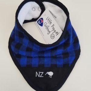 Blue NZ Bib