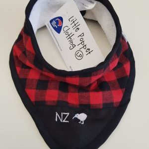 Red NZ Bib