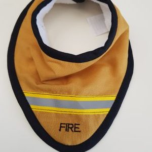 Fire Dribble Bib
