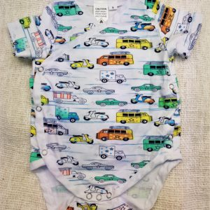Retro Car Onesie