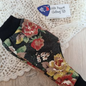 New Grey Floral Harems